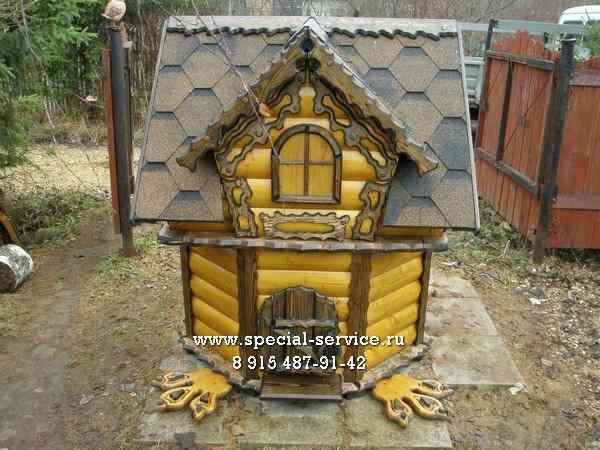 домик для колодца авторский